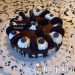Sütés nélküli Oreo torta 3