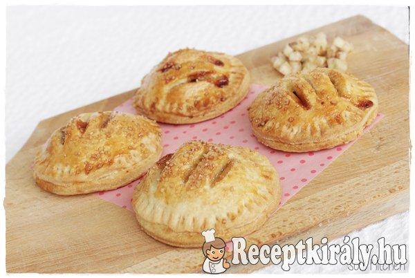 Sós karamelles mini almás piték