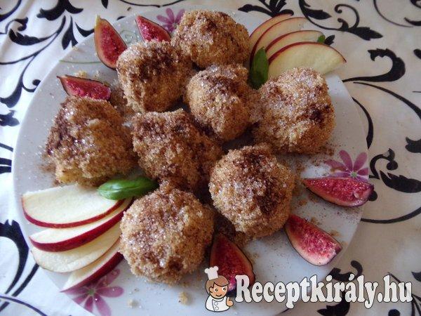 Almás diétás gombóc