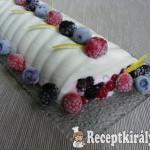 Gyümölcsös-tejfölös őzgerinc 1
