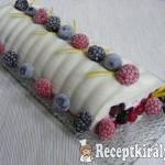 Gyümölcsös-tejfölös őzgerinc 2