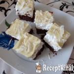 Habos szelet fehér csokival 2