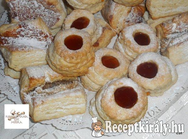 Hájas sütemények élesztővel