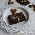 Mogyorós brownie 2