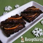 Narancsos brownie 3