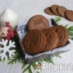 Kakaós sütipecsétes keksz karamell krémmel 1