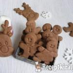 Karácsonyi kakaós-mézes keksz 1