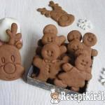 Karácsonyi kakaós-mézes keksz 2