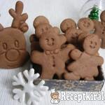 Karácsonyi kakaós-mézes keksz 3