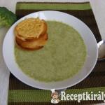 Brokkoli krémleves Marcsi konyhájából 1