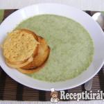 Brokkoli krémleves Marcsi konyhájából