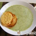 Brokkoli krémleves Marcsi konyhájából 3