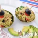 Chilis avokádós tonhalkrém - paleo 2