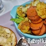 Csirkemell őzgerincben és fűszeres tepsis zöldség - paleo 1