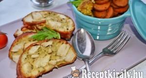 Csirkemell őzgerincben és fűszeres tepsis zöldség – paleo