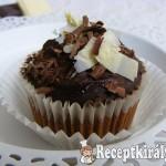 Csokoládés cupcake 1