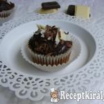 Csokoládés cupcake