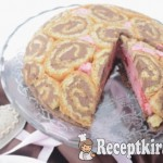 Epres-csokis Charlotte torta - paleo