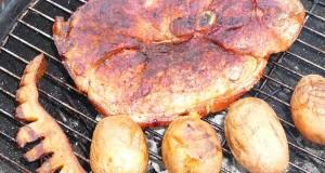 Grillezett óriás sertéscomb