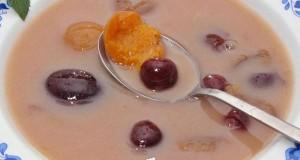 Hideg gyümölcsleves Gasztropajti konyhájából