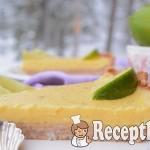 Juharszirupos lime pite - paleo 3