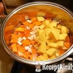 Karácsonyi sütőtök leves 1