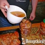 Lesütött hús (Dunsztos üvegben)