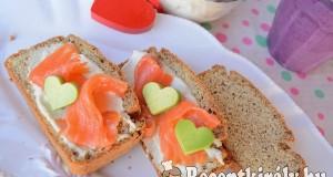 Mandulavajas kenyér liszt nélkül – Paleo