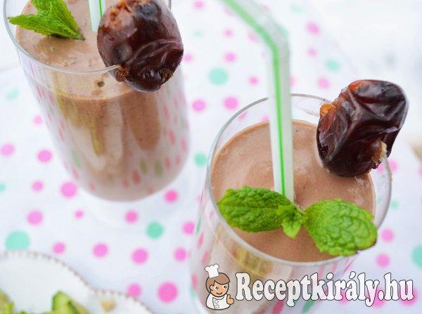 Mentás-csokis milkshake - paleo