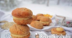 Narancskrémes mandulás keksz – paleo
