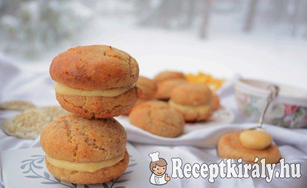 Narancskrémes mandulás keksz - paleo