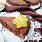 Sárgarépapürés pillekönnyű csokitorta - paleo 2