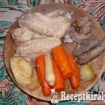 Szárnyas húsleves 2