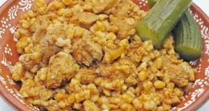 Tarhonyás hús Gasztropajti konyhájából