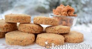 Töpörtyűs scones – paleo
