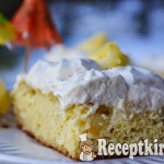 Ananászos kókuszos torta - paleo 2