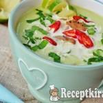 Avokádó leves - paleo 1