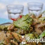 Brokkolis mustáros csirke - paleo 1