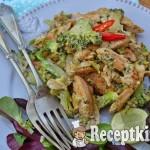 Brokkolis mustáros csirke - paleo
