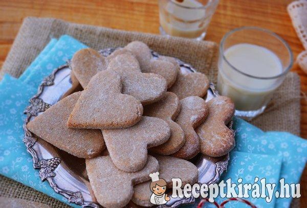 Citromos gyömbéres keksz - paleo