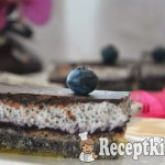 Csokis mákos krémes - paleo 1