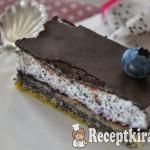 Csokis mákos krémes - paleo 2