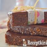 Csokis narancsos energiaszelet sütés nélkül - paleo