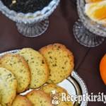 Earl Grey teás narancsos vajas keksz 2