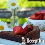 Francia csokoládétorta - paleo 1