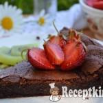 Francia csokoládétorta - paleo