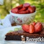 Francia csokoládétorta - paleo 2