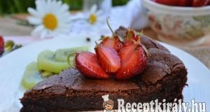 Francia csokoládétorta – paleo