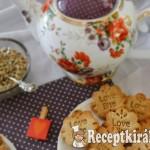 Gesztenyés kókuszos keksz - paleo 2