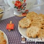 Gesztenyés kókuszos keksz - paleo 3